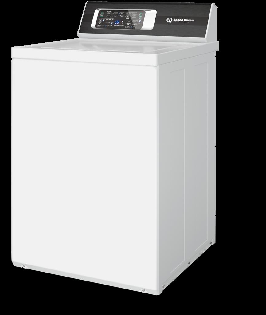 side view of speed queen washing machine