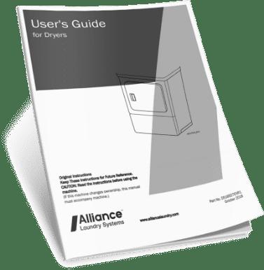 Speed Queen User Guide of Dryer