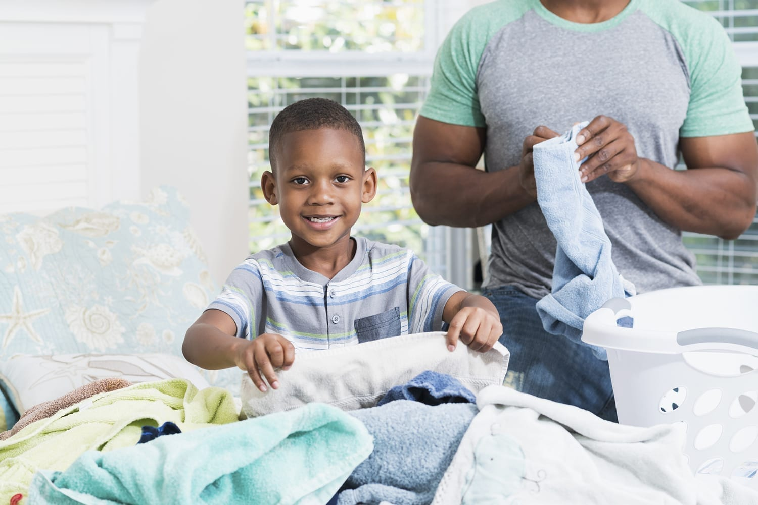 Laundry 101 for Kids
