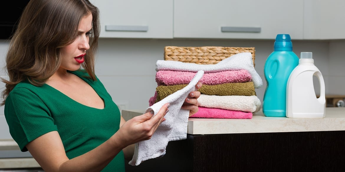 Are there mysterious stains on your laundry?