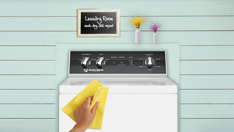 Spring Clean Your Washer