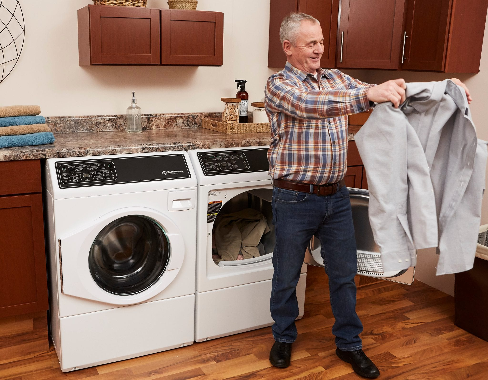 Speed Queen dryers proven to sanitize loads