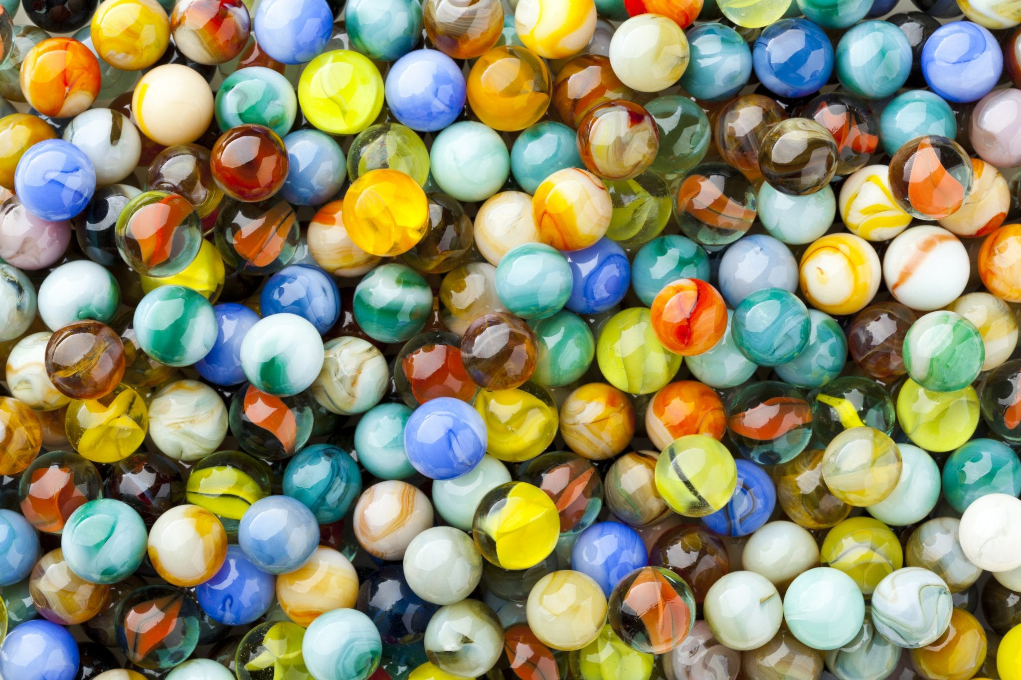 We've found our marbles